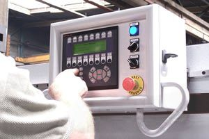 shearing machine mobile control panel