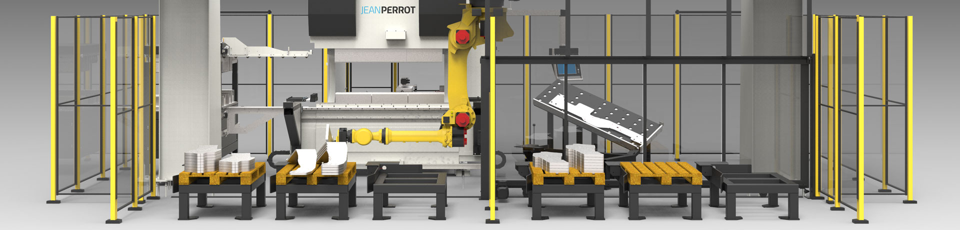 We offer custom solutions to answer each of our clients' specific needs. Our automated bending cellsinclude press brake MANEO Premium LCS, robotic arms, accessories & additional modules to fit your needs.